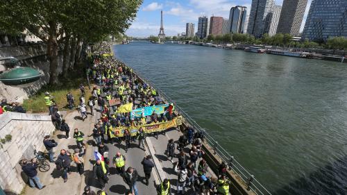 """""""Gilets jaunes"""" : la mobilisation marque le pas avant le 1er-Mai"""