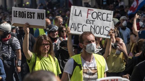 """DIRECT. Nouvelle journée de manifestations des """"gilets jaunes"""", deux jours après les annonces d'Emmanuel Macron"""