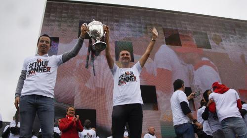 DIRECT. Rennes vainqueur de la Coupe de la France : regardez la présentation du trophée aux supporters
