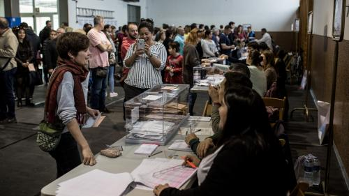 DIRECT. Espagne : la participation très élevée à 18 heures par rapport à 2016