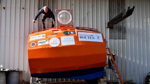 Un aventurier de 72 ans revendique la traversée de l'Atlantique dans un tonneau