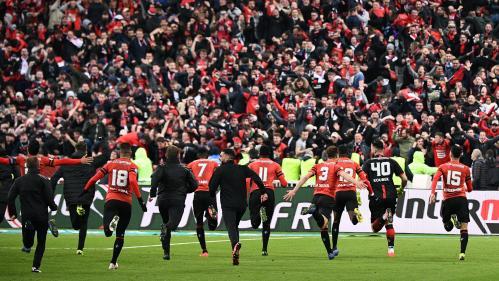 VIDEO. Coupe de France : Rennes célèbre ses héros