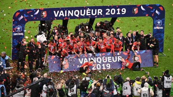 Coupe de France : le Stade Rennais vainqueur au bout du suspense