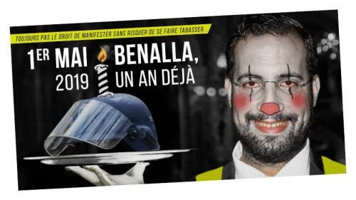"""1er-Mai : un an après l'affaire, un """"Benalla Bloc"""" devrait défiler pour """"faire un pied de nez au gouvernement"""""""