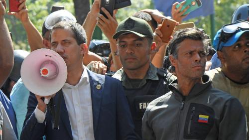 DIRECT. Venezuela : Guaido appelle ses partisans à descendre dans la rue jusqu'au départ de Maduro