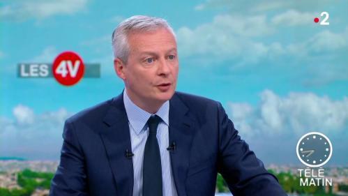 VIDEO. Impôt sur le revenu : le ministre de l'Economie propose une baisse de 180 à 350 euros par an pour les ménages des deux premières tranches