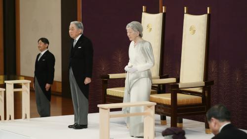 Japon : l'empereur Akihito devient le premier à abdiquer depuis plus de 200 ans