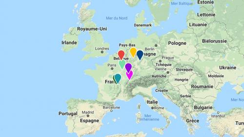 CARTE. Découvrez comment le centre géographique de l'Union européenne s'est déplacé au fil de son histoire