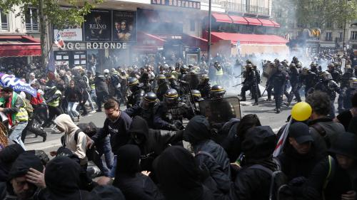 DIRECT. Manifestations du 1er-Mai : 165 personnes arrêtées à Paris