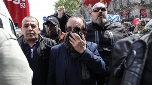 DIRECT. 1er-Mai : Philippe Martinez brièvement exfiltré de la manifestation parisienne après avoir été pris à partie par des black blocs