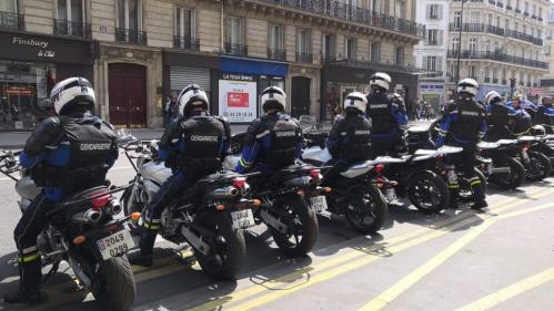 1er-Mai : des motards de l'escorte présidentielle ont-ils été appelés en renfort pour la manifestation à Paris ?