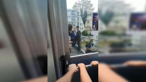 VIDEO. 1er-Mai : les images de la tentative d'intrusion à l'hôpital de la Pitié-Salpêtrière filmées depuis le service de réanimation