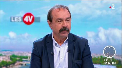 """1er-Mai : """"Une grenade est tombée juste à côté de moi"""", fulmine Philippe Martinez (CGT)"""