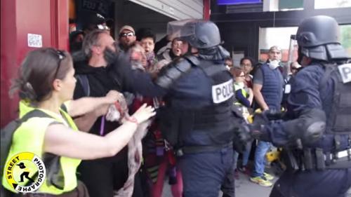 INFO FRANCEINFO. 1er-Mai : l'IGPN saisie après la diffusion d'une vidéo montrant un policier qui gifle un manifestant