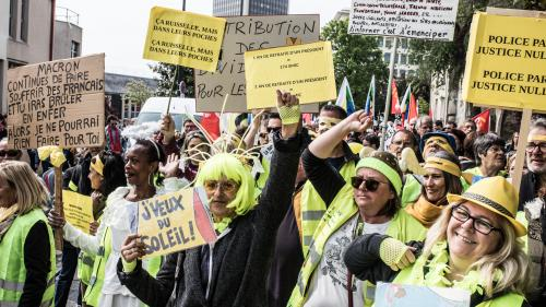 """""""Gilets jaunes"""" : trois listes pour les européennes 2019"""