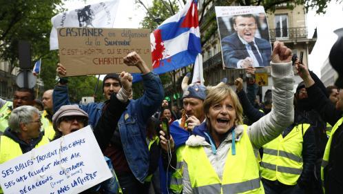 """DIRECT. Les """"gilets jaunes"""" tentent de relancer leur mobilisation après les manifestations du 1er-Mai"""