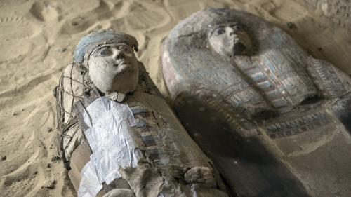 Égypte : un cimetière de l'Ancien Empire mis au jour à Guizeh