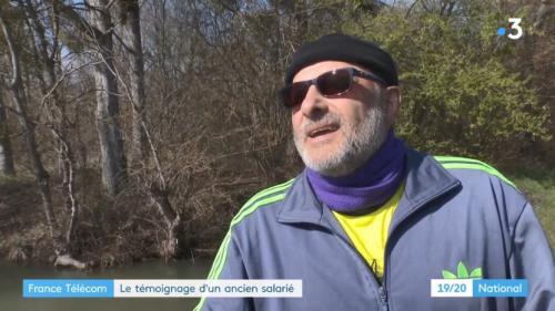 """VIDEO. """"Je sors mon couteau et je me plante"""" : le témoignage poignant d'un ancien salarié de France Télécom qui a tenté de suicider"""