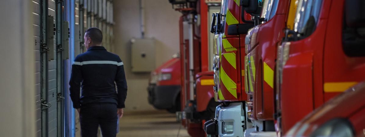 Les agressions de pompiers ont progressé de 21% en un an