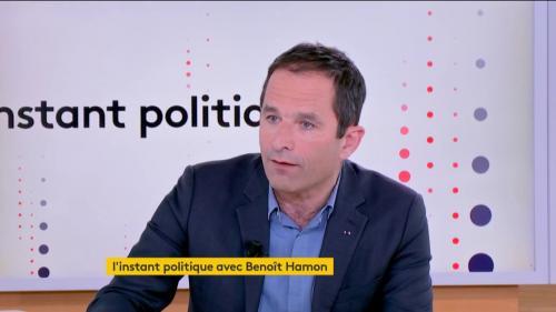 """VIDEO. Elections européennes : """"Mon adversaire, c'est la nullité de cette campagne"""", déclare Benoît Hamon"""