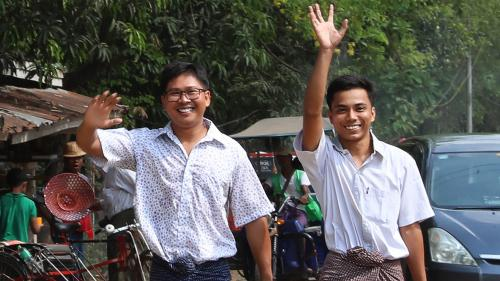 Birmanie : deux journalistes de Reuters libérés après plus de 500 jours en prison