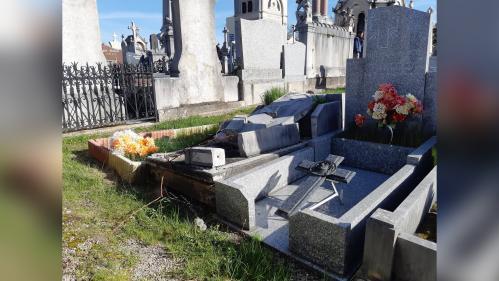 Saint-Etienne: 62 tombes d'un cimetière profanées lundi soir, trois jeunes femmes en garde à vue