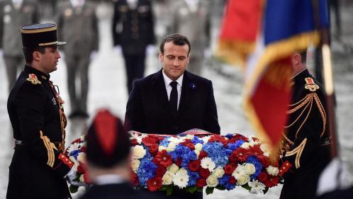 DIRECT. Commémorations du 8-Mai : Emmanuel Macron rend hommage aux soldats français sous l'Arc de triomphe