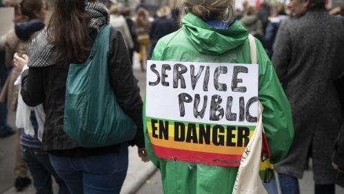 DIRECT. Fonction publique : plus de 30 000 manifestants à Paris, selon la CGT