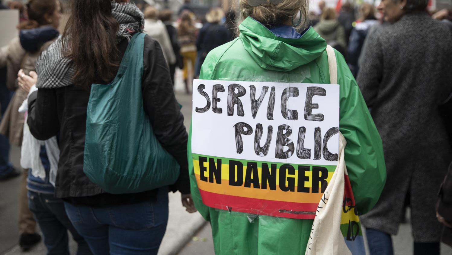 74cb6e1ca1d Fonction publique   108 900 manifestants ont défilé dans toute la France  selon le gouvernement