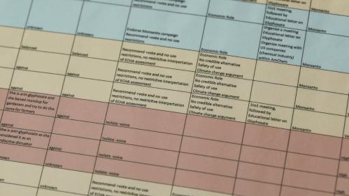 Fichage de données personnelles pour Monsanto: 600personnes concernées en France et en Allemagne