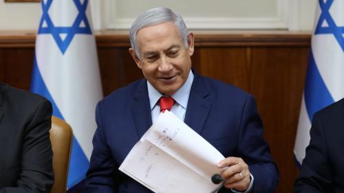 """Israël : Benyamin Nétanyahou a trouvé le site où sera baptisé la colonie """"Donald Trump"""" sur le plateau du Golan occupé"""