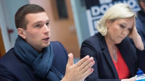 """Elections européennes : Jordan Bardella, l'ascension éclair d'un """"bébé Front national"""""""