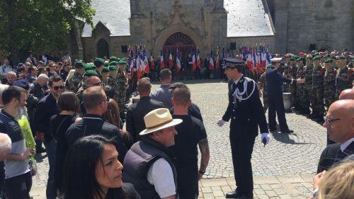 DIRECT. Morbihan : une foule nombreuse assiste aux obsèques de Cédric de Pierrepont, l'un des deux militaires tués au Burkina Faso
