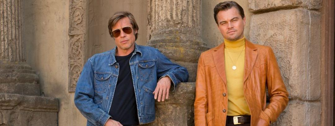 "Brad Pitt et Leonardo DiCaprio dans ""Once upon a time... In Hollywood\"" de Quentin Tarantino (2019)"