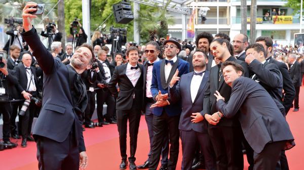 """EN IMAGES. Cannes 2019 : tapis rouge pour """"Les Misérables"""" de Ladj Ly sour l'oeil de Jamel Debbouze et Amber Heard"""