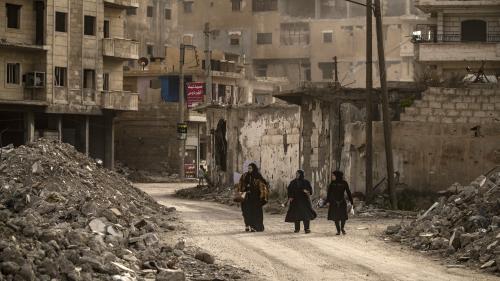 Des familles syriennes toujours en quête de leurs proches enlevés par l'État Islamique en appellent aux pays de la coalition internationale