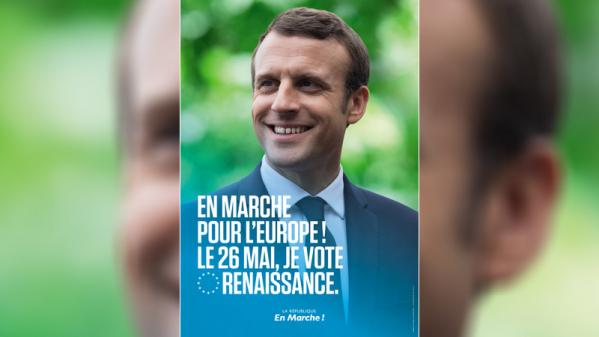 Européennes : Emmanuel Macron sera présent sur une affiche de campagne de LREM