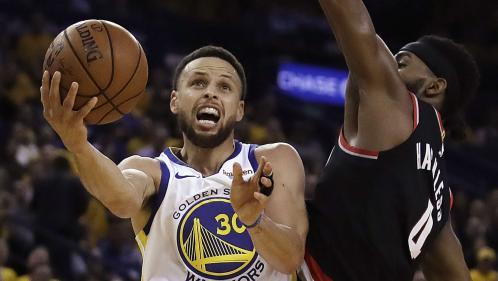 NBA : Stephen Curry assaisonne Portland (et Golden State mène 1-0 en finale de conférence à l'Ouest)