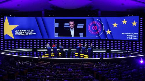 VIDEO. Revivez le débat entre les Spitzenkandidaten, candidats à la présidence de la Commission européenne
