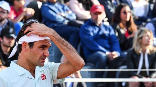 Tennis : blessé à la jambe, Roger Federer déclare forfait avant son quart de finale à Rome