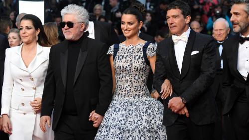 EN IMAGES. Cannes 2019 : Pedro Almodovar à l'honneur, accompagné de Penélope Cruz et Antonio Banderas