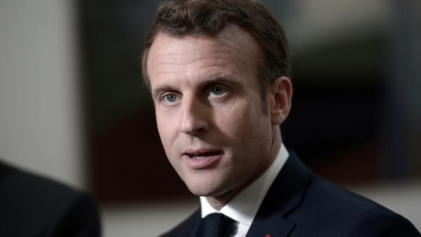 """A neuf jours des européennes, Macron attaque le RN et son bilan """"catastrophique"""""""