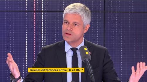 """VIDEO. Europe : """"L'élargissement a été une profonde erreur"""", estime Laurent Wauquiez"""