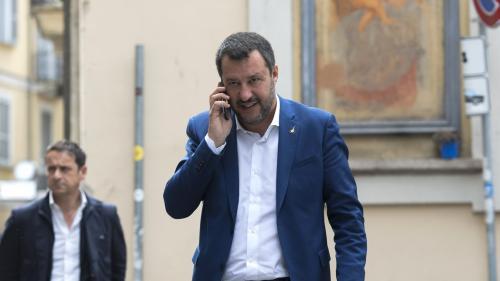 """Meeting de Milan : """"Matteo Salvini est en meilleure position"""" pour être le leader de l'extrême droite en Europe, selon un historien"""