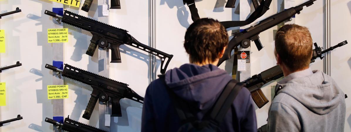 Etats-Unis : un hypermarché ne commercialise plus d'armes à feu
