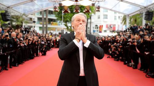 Alain Delon honoré par le Festival de Cannes