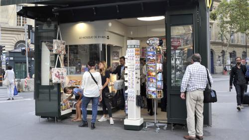 Il n'y aura sans doute pas de journaux en kiosques mercredi, en raison d'un mouvement de grève de la CGT