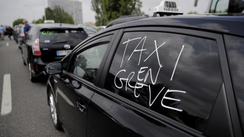 Pourquoi les taxis manifestent à nouveau contre les VTC