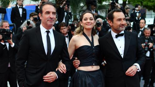 """EN IMAGES. Cannes 2019 : tapis rouge pour """"La Belle Epoque"""" avec Jean Dujardin, Marion Cotillard et Gilles Lellouche"""