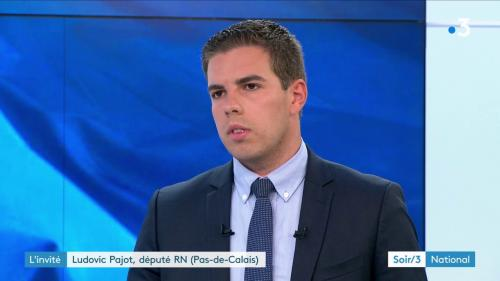 """Pajot (RN) : """"En matière d'ingérence, LREM n'a pas de leçons à donner au Rassemblement national"""""""